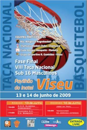 cartaz Taça Nacional sub16M